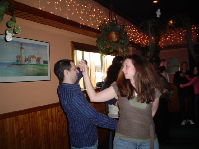 Long Island Singles Speed Dancing at Callahans